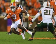 Bart Boatwright's Halftime Gallery: Clemson 21, Miami 10