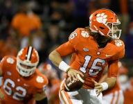 Clemson dominating Yellow Jackets