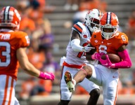 Clemson wideout to honor fallen father on Military Appreciation Day