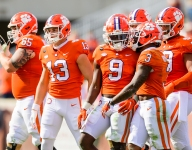 Etienne takes full advantage in becoming ACC's all-time rusher