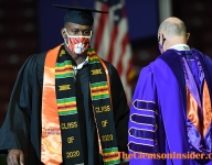 Former Tiger appreciates opportunity to walk at commencement