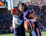 Lawrence on Swinney: 'He is a guy that I love playing for'