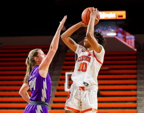 Elliott, Clemson down Furman in season opener