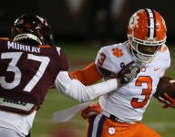 Clemson player works at new position at Pro Day