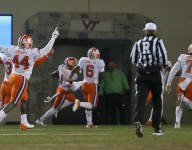 Game-changing turnovers help Tigers pull away from Hokies