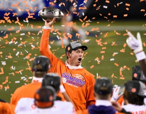 10 years after hitting rock bottom, Clemson firmly cemented at the top