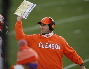 Swinney excited to manage his latest two-sport stars