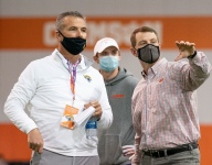 Finebaum asks Meyer not to 'screw it up' with Lawrence