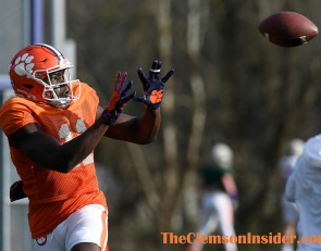 Clemson's pass catchers are growing by leaps and bounds