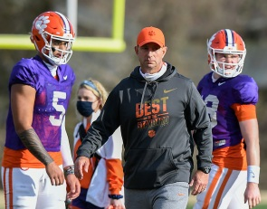 You might be surprised where Clemson is ranked in this preseason poll