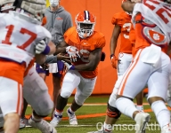 Freshman running back shows out
