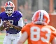 Clemson quarterback suffers a major injury