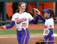 Cagle Deals No-Hitter in 9-0 Rout Over Winthrop