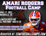 Rodgers to host football camp