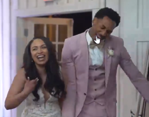 WATCH: Former Tiger has one of the best wedding introductions of all time