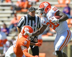 What sudden departure could mean for Clemson's backfield