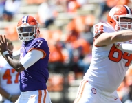 Clemson player officially out for a while