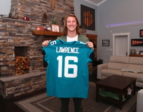 Lawrence already feeling at home in Jacksonville