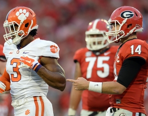 Vegas releases early odds on Clemson-Georgia