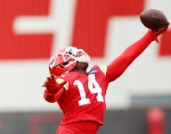 Former Clemson receiver showing his stuff at minicamp