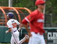 Clemson makes history in sweep of Cardinals