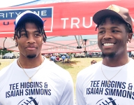 Simmons, Higgins glad to give back to Clemson fans