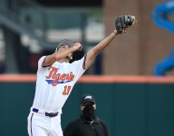 Bart Boatwright's Photo Gallery: Tigers complete historic sweep of Louisville