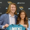 Cool moment for Lawrence