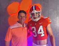 5-star LB target makes 'all night drive' to Clemson for gameday
