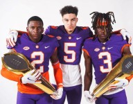 Tiger commits pose with 5-star Clemson target