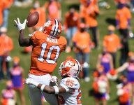 Clemson's receiving corps striving for more versatility