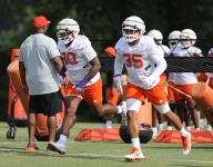 What does Clemson's DL depth look like on the interior?