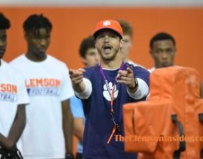 Four-star receiver blown away by Clemson visit