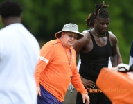 Texas 4-star offensive lineman has 'great day' at Clemson