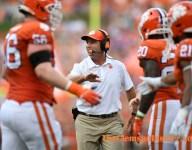 Swinney updates injuries after Georgia Tech game