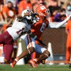 Clemson player has incident on field with N.C. State fans