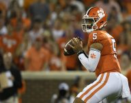 Swinney pinpoints 'biggest difference' in Uiagalelei's performance since last season