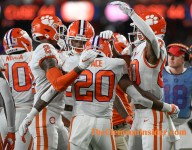 What did Clemson's offense work on during the open date?