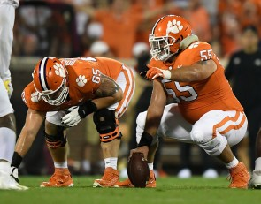 More bad news for Clemson's offensive line