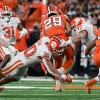 Clemson eventually flips the script on Syracuse's ground game