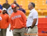 Pittsburgh head coach, player throw shade at Clemson