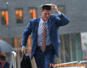 Bart Boatwright's Photo Gallery: Clemson arrives to Carrier Dome